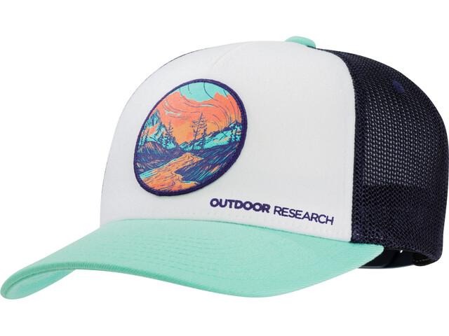 Outdoor Research Alpenglow Trucker Cap Tahiti